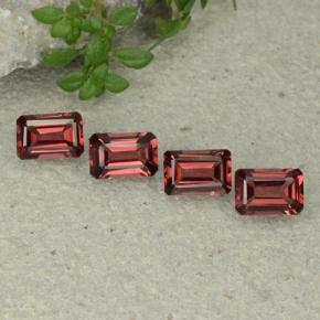 0.6ct Octagon Step Cut Deep Red Pyrope Garnet Gem (ID: 480694)