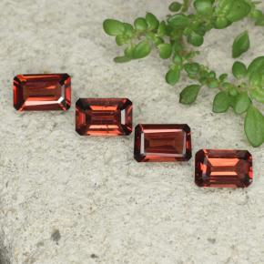 0.5ct Octagon Step Cut Deep Red Pyrope Garnet Gem (ID: 480773)