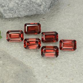 0.6ct Octagon Step Cut Dark Red Pyrope Garnet Gem (ID: 480946)