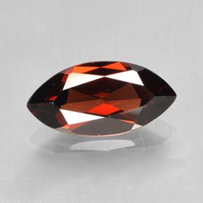 2.1ct Marquise Facet Dark Red Pyrope Garnet Gem (ID: 502048)