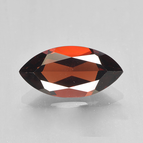 2.1ct Marquise Facet Dark Red Pyrope Garnet Gem (ID: 502049)