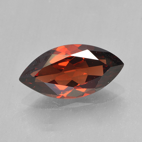 2.1ct Marquise Facet Deep Red Pyrope Garnet Gem (ID: 502050)