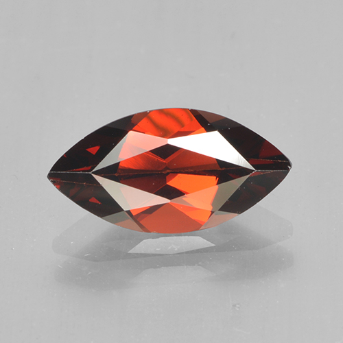1.8ct Marquise Facet Sangria Red Pyrope Garnet Gem (ID: 502054)