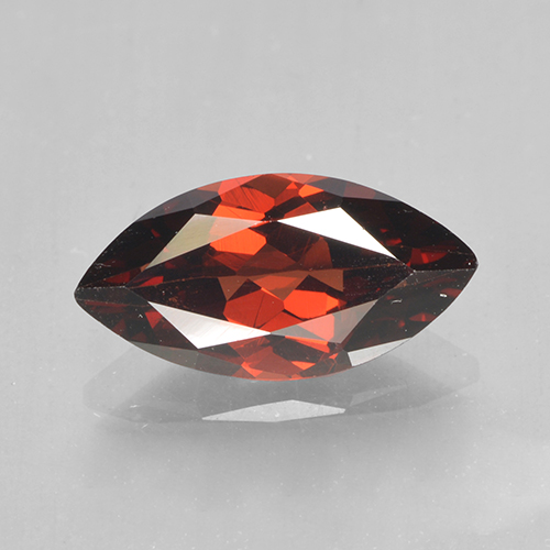 2.1ct Marquise Facet Medium Red Pyrope Garnet Gem (ID: 502056)