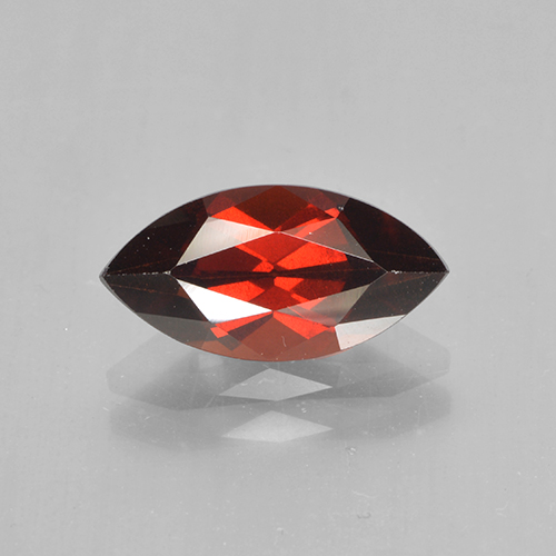 2.1ct Marquise Facet Deep Red Pyrope Garnet Gem (ID: 502057)