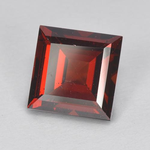 2.3ct Square Step-Cut Red Pyrope Garnet Gem (ID: 513520)