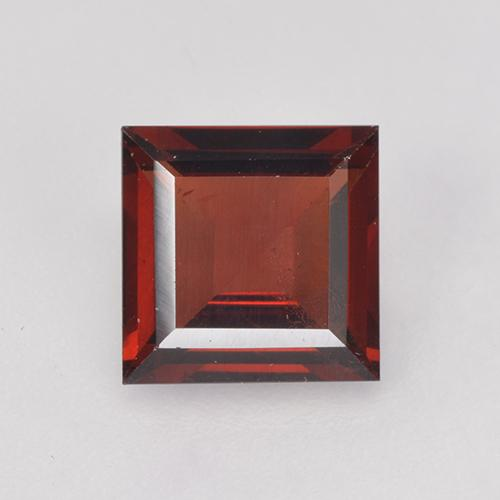 Deep Blood Red Granate Piropo Gema - 1.9ct Corte cuadrado step (ID: 520881)
