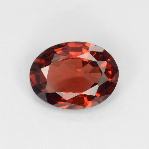 Medium Red Granate Piropo Gema - 0.7ct Forma ovalada (ID: 540322)