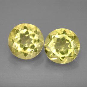 Buy 5.10 ct Lemon Quartz 8.98 mm  from GemSelect (Product ID: 287176)