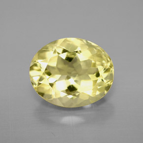 Buy 3.12 ct Lemon Quartz 10.74 mm x 8.9 mm from GemSelect (Product ID: 299765)