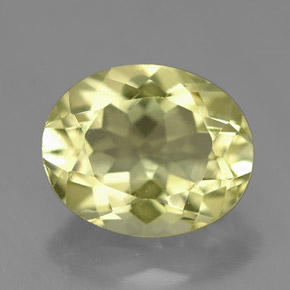 Buy 3.73 ct Lemon Quartz 11.19 mm x 9.1 mm from GemSelect (Product ID: 307011)