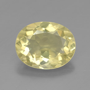 Buy 3.09 ct Lemon Quartz 11.30 mm x 9 mm from GemSelect (Product ID: 320904)