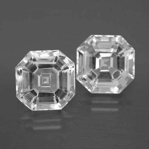 Buy 11.36 ct White Quartz 11.02 mm x 11 mm from GemSelect (Product ID: 395873)