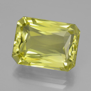 16.2ct Octagon / Scissor Cut Lemon Quartz Gem (ID: 398975)