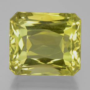Lemon Quartz Gem - 33.4ct Octagon / Scissor Cut (ID: 399245)