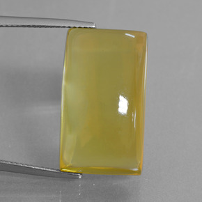 Lemon Quartz Gem - 33.1ct Baguette Cabochon (ID: 406076)