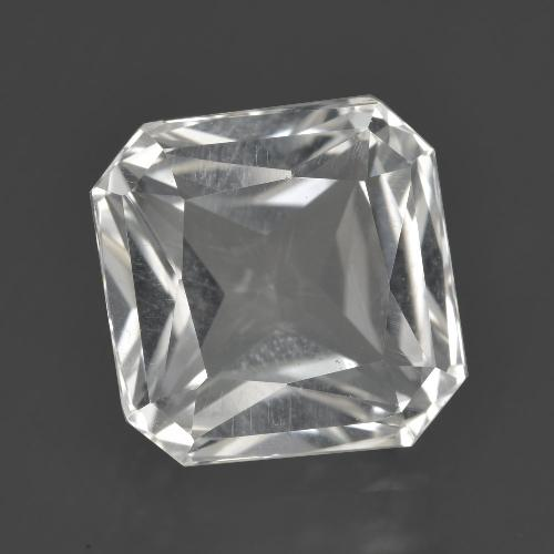 8.4ct Octagon / Scissor Cut White Quartz Gem (ID: 407837)