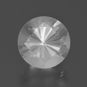 5.4ct Diamond-Cut White Quartz Gem (ID: 408616)