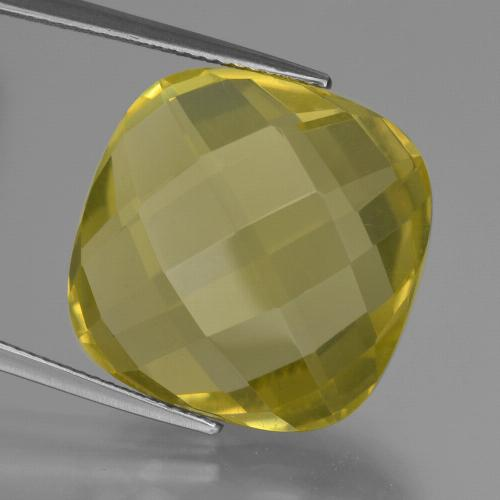 thumb image of 25.9ct Cushion Checkerboard (double sided) Lemon Quartz (ID: 417324)
