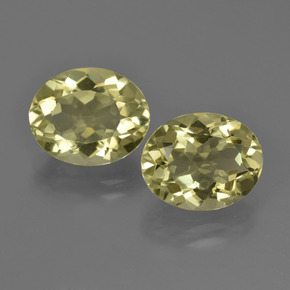 Medium Yellow Cuarzo Gema - 3.5ct Forma ovalada (ID: 423170)