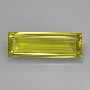 Lemon Quartz Gem - 60.1ct Baguette Step Cut (ID: 503903)