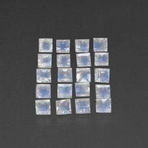 Buy 3.82 ct Blue White Rainbow Moonstone 3.10 mm x 3 mm from GemSelect (Product ID: 312022)
