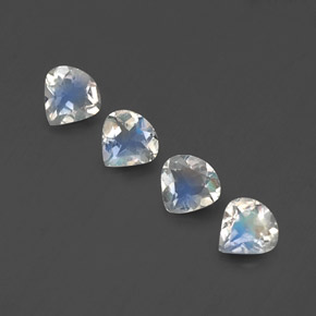 Buy 1.13 ct Blue White Rainbow Moonstone 4.94 mm x 4.9 mm from GemSelect (Product ID: 339126)