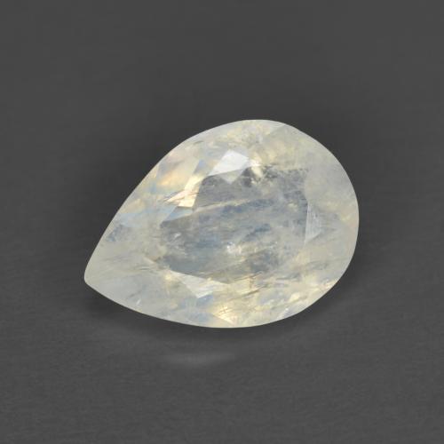 Cabochon Rainbow moon stone  8*10 mm 100 Piece Oval Semi precious stone Loose Gemstone RBMS