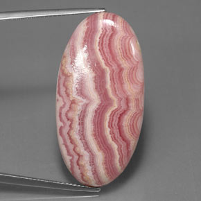 Buy 32.68 ct Multicolor Rhodochrosite 34.46 mm x 17.6 mm from GemSelect (Product ID: 314403)
