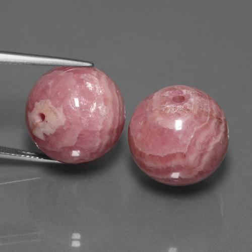 thumb image of 72.9ct Drilled Sphere Multicolor Rhodochrosite (ID: 447527)