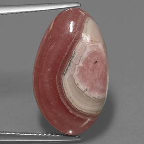 Multicolor Rhodochrosite Gem - 21ct Fancy Cabochon (ID: 447736)