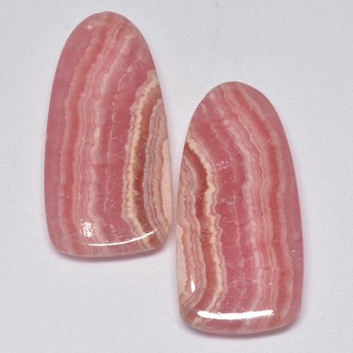 Multi Rose Pink Rhodochrosite Gem - 9.8ct Fancy Cabochon (ID: 515373)