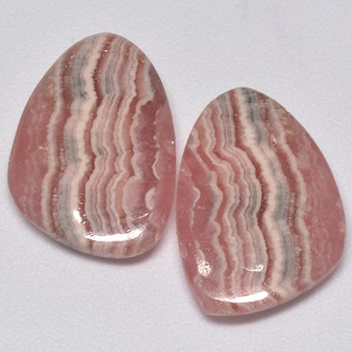 Multi Rose Pink Rhodochrosite Gem - 6.3ct Fancy Cabochon (ID: 515377)
