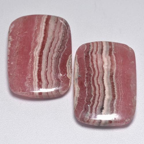 Multi Rose Pink Rhodochrosite Gem - 14.3ct Cushion Cabochon (ID: 516194)