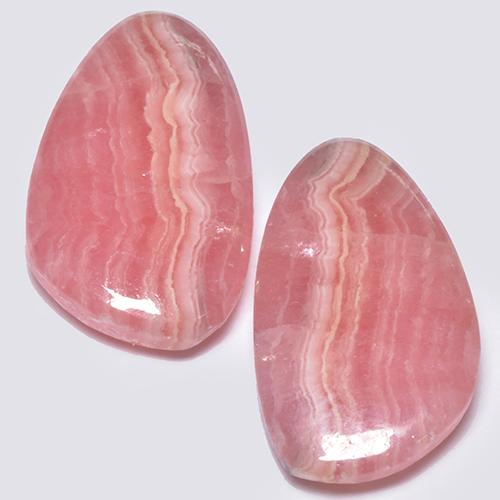Multi Rose Pink Rhodochrosite Gem - 6.5ct Fancy Cabochon (ID: 516640)