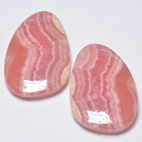 Multi Rose Pink Rhodochrosite Gem - 10ct Fancy Cabochon (ID: 516644)