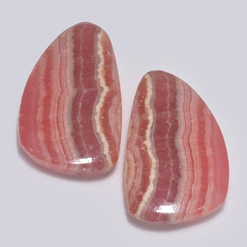 Multi Rose Pink Rhodochrosite Gem - 8.4ct Fancy Cabochon (ID: 517462)