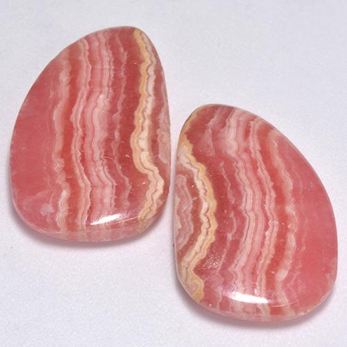Multi Rose Pink Rhodochrosite Gem - 11.1ct Fancy Cabochon (ID: 517466)