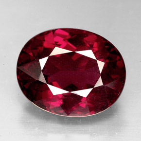 Rhodolite Garnet 10 4 Carat Oval From Tanzania Natural And