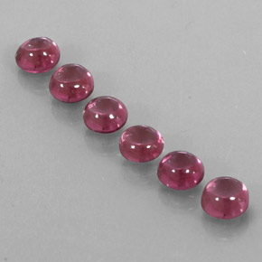 Buy 4.42 ct Raspberry Red Rhodolite Garnet 5.01 mm  from GemSelect (Product ID: 324968)