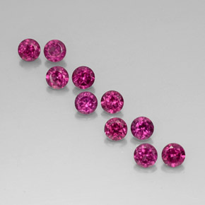 Buy 2.76 ct Raspberry Red Rhodolite Garnet 3.59 mm  from GemSelect (Product ID: 326706)