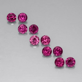 Buy 2.34 ct Raspberry Red Rhodolite Garnet 3.55 mm  from GemSelect (Product ID: 326899)