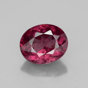 Buy 2.21 ct Raspberry Red Rhodolite Garnet 8.32 mm x 6.8 mm from GemSelect (Product ID: 326908)