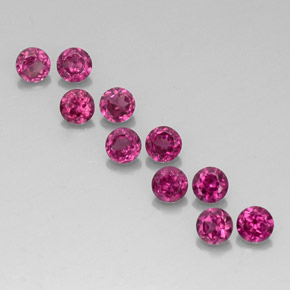 Buy 2.43ct Raspberry Red Rhodolite Garnet 3.56mm  from GemSelect (Product ID: 326920)