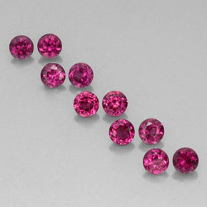 Buy 2.64 ct Raspberry Red Rhodolite Garnet 3.58 mm  from GemSelect (Product ID: 326928)