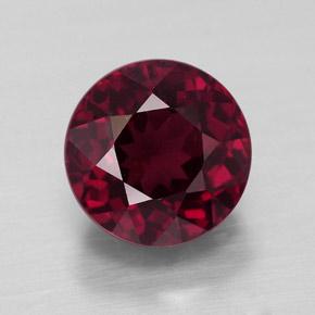 3 9ct Raspberry Red Rhodolite Garnet Gem From Mozambique