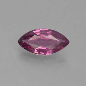 Grape Granato di rodolite Gem - 1.1ct Marquise sfaccettato (ID: 413096)