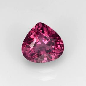 Raspberry Red Rhodolite Garnet Gem - 1.7ct Pear Facet (ID: 501557)