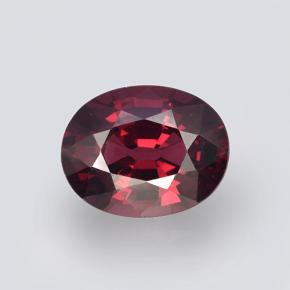 Raspberry Red Rhodolite Garnet Gem - 2.8ct Oval Facet (ID: 504715)