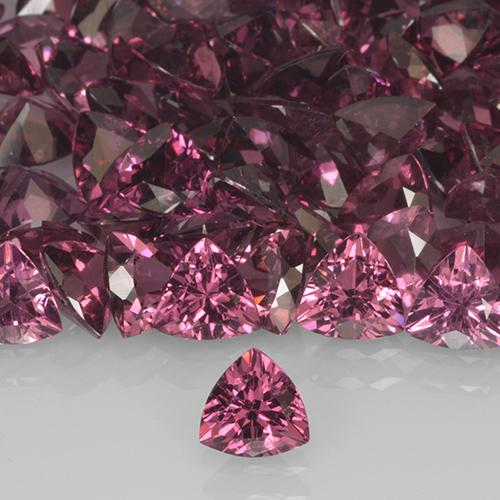 Medium Purple Granate Rodolita Gema - 0.5ct Forma trillón (ID: 505933)
